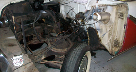 1955 Ford Part 2: Disassembly, Sandblasting