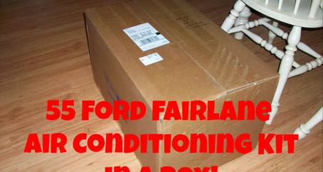 1955 Ford Part 18: Custom A/C, Brackets & Belts, and Wiring Harness