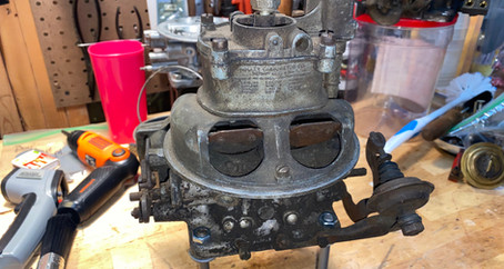 1955 Ford Holley 4000 Rebuild