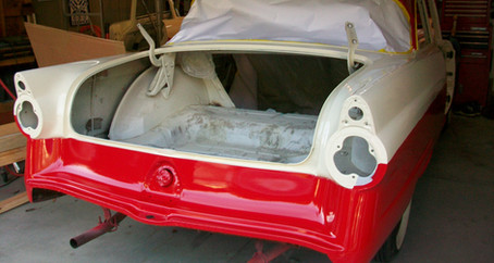 1955 Ford Part 27: Buffing Clear Coat and Installing Door Seals