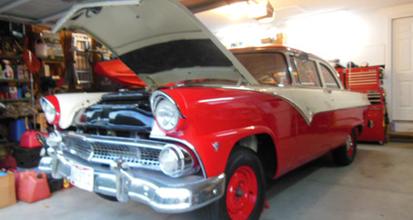 1955 Ford Part 84: Tinkering on the Ford