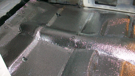 1955 Ford Part 42: Floor Insulation
