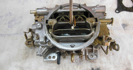 1955 Ford Part 75: CSI Work on the Edelbrock Carburetor and Ignition