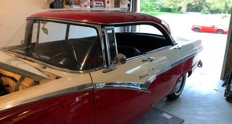 1955 Ford Part 59: 1956 Ford Four Door Victoria!