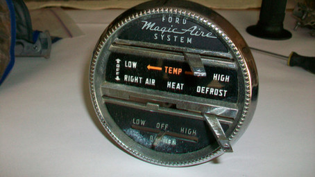 1955 Ford Part 57: Restoration of the Heater Controls