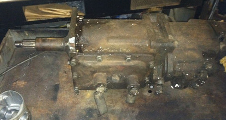 Mercury 3 Speed with R10 Overdrive Rebuild Part 1
