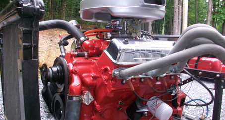 1955 Ford Part 86: Engine Run Stand for the Y Block Ford Engine