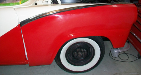 1955 Ford Part 35: Front End Body Panels