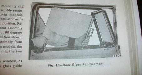 1955 Ford Part 37: Door Vent Window Assemblies and Door Glass