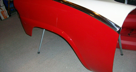 1955 Ford Part 34: Stainless Steel Trim