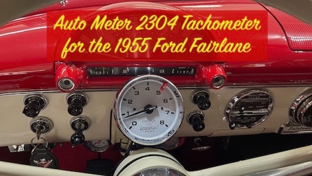 1955 Ford Part 104: Installing an Auto Meter 2304 Tachometer