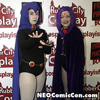 NEO Comic Con comic books book cleveland ohio comicbook cosplay teen titans raven