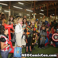 NEO Comic Con comic books book cleveland ohio comicbook cosplay