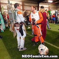 NEO Comic Con comic books book cleveland ohio comicbook cosplay star wars