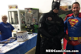 neo comic con comics book books cleveland ohio charity make a wish