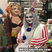 NEO Comic Con comic books book cleveland ohio comicbook cosplay harley quinn rob zombie