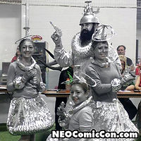 NEO Comic Con comic books book cleveland ohio comicbook cosplay robot family