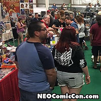 neo comic con comics book books cleveland ohio kevin nowlan
