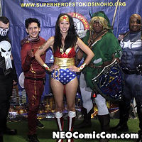 NEO Comic Con comic books book cleveland ohio comicbook cosplay wonder woman
