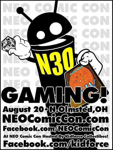 neo comic con 2017 comics book books cleveland north olmsed ohio