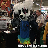 NEO Comic Con comic books book cleveland ohio comicbook cosplay furrier