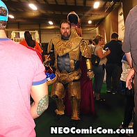 NEO Comic Con comic books book cleveland ohio comicbook cosplay he man heman