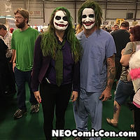 NEO Comic Con comic books book cleveland ohio comicbook cosplay joker jokers