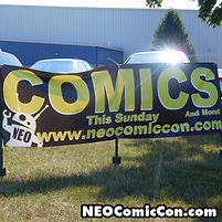 neo comic con comics book books cleveland ohio kevin nowlan