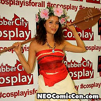 NEO Comic Con comic books book cleveland ohio comicbook cosplay hula girl