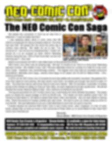 neo comic con comics convention book books