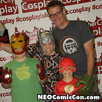 NEO Comic Con comic books book cleveland ohio comicbook cosplay family