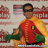 NEO Comic Con comic books book cleveland ohio comicbook cosplay batman robin