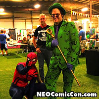 NEO Comic Con comic books book cleveland ohio comicbook cosplay spiderman batman