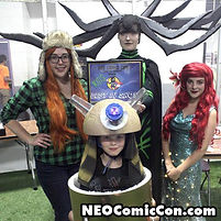 NEO Comic Con comic books book cleveland ohio comicbook cosplay princess morgan