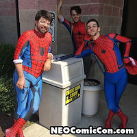 NEO Comic Con comic books book cleveland ohio comicbook cosplay spiderman spider man