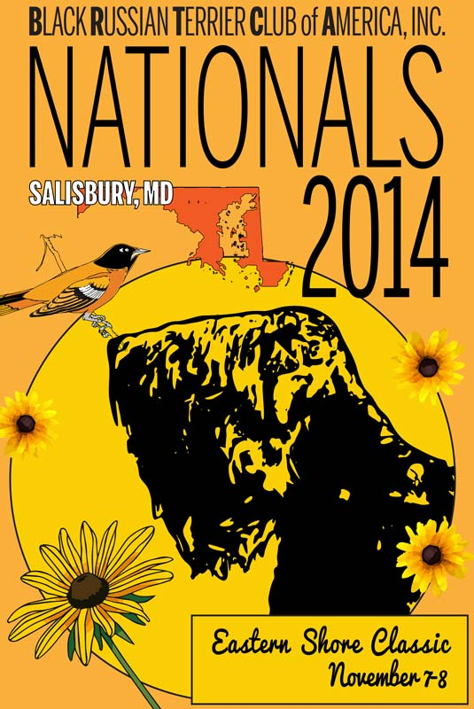 Liberty at 2014 BRTCA Nationals Poster
