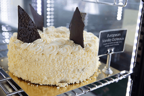 Vanilla Continental Torte