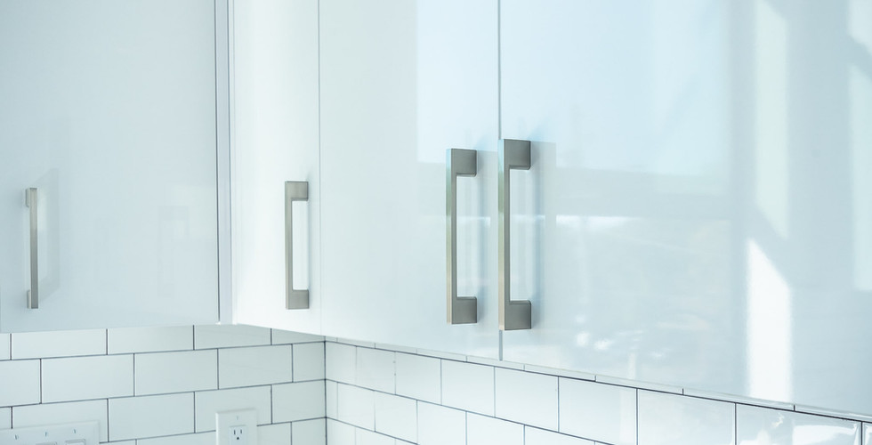 HIGH GLOSS WHITE WALL CABINETS