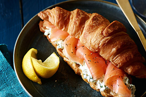 Smoked Salmon and Brie Croissants