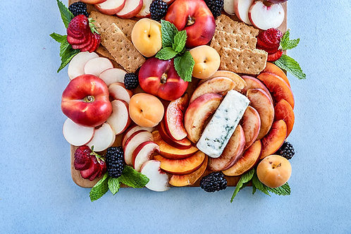 Cheese and Fruit (Serves 8-10)