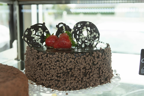 Peppermint and Chocolate Cake