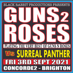 GUNS 2 ROSES VS SURREAL PANTHER