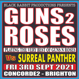 GUNS 2 ROSES VS SURREAL PANTHER