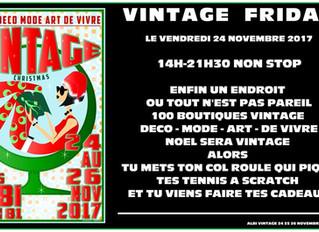 Black Vintage Friday ce vendredi dès 14h !