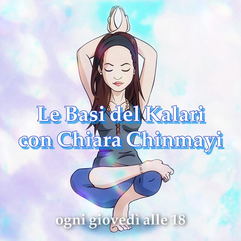 Le Basi del Kalari con Chiara Chinmayi - Per Tutti i Livelli