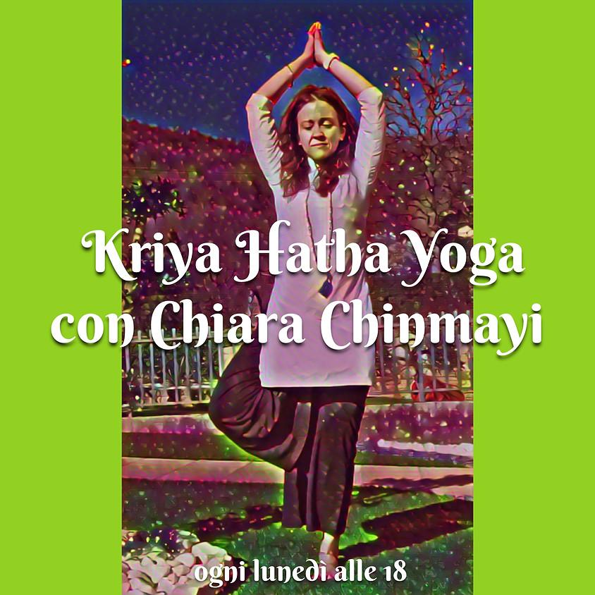 Pratica Kriya Hatha Yoga di Chiara Chinmayi - Per Tutti