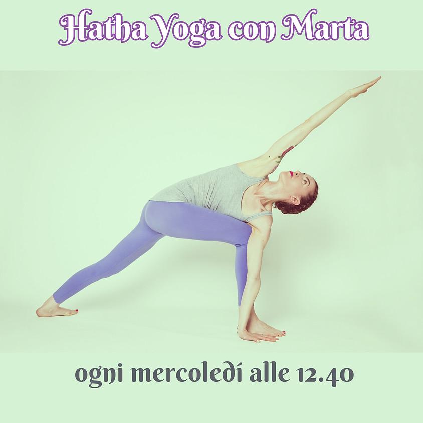 Pratica Hatha Yoga con Marta | Per Tutti