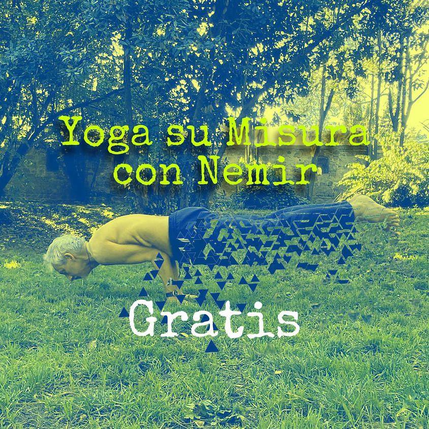 Pratica Yoga su Misura con Nemir **Gratis** - Per Tutti i Livelli