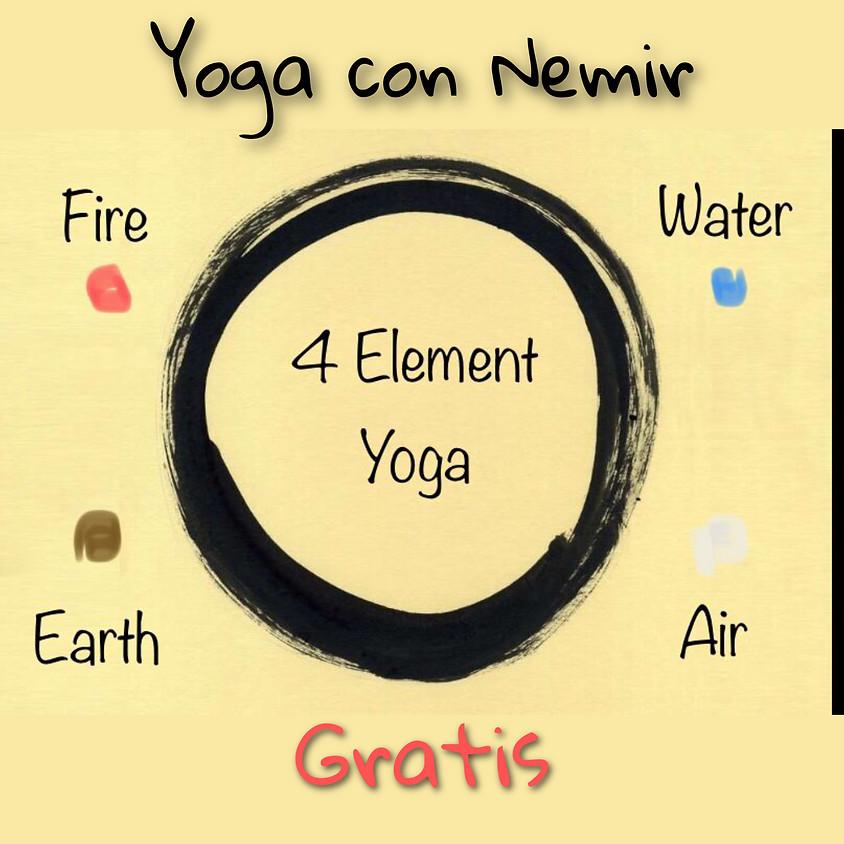 Lo Yoga dei 4 Elementi con Nemir **Gratis** - Per Tutti