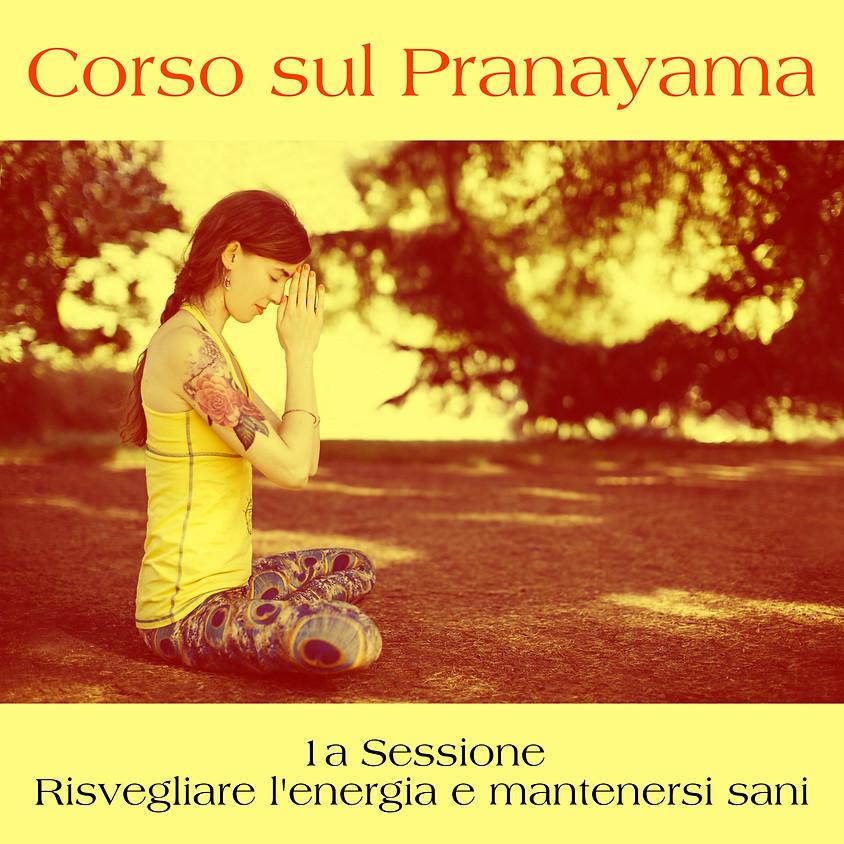 """1a Sessione Corso sul Pranayama: """"Risvegliare l'energia e mantenersi sani"""""""